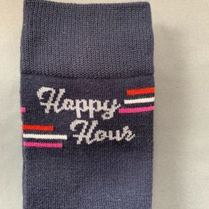 HAPPY HOUR Goodfellow & Co Size 7-12 Crew Socks~~2